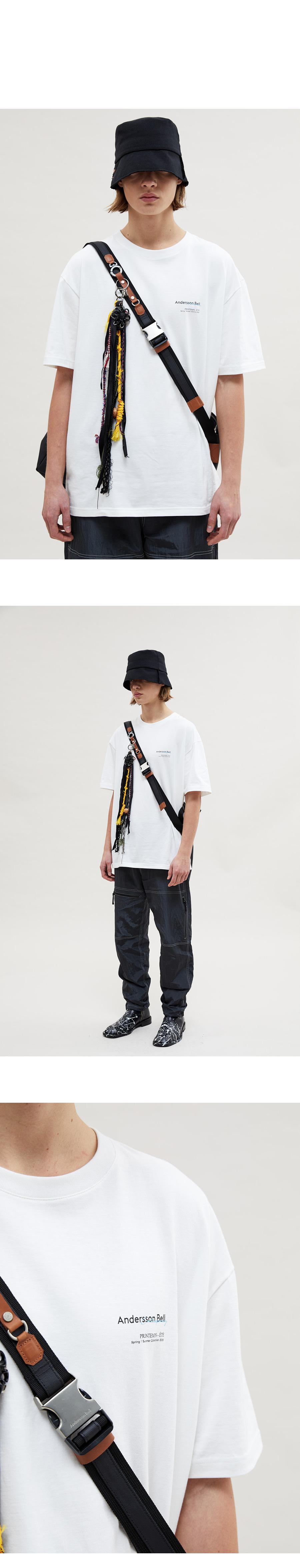 앤더슨벨(ANDERSSON BELL) 유니섹스 팡통 에테 시즌 티셔츠 atb479u(BLACK)