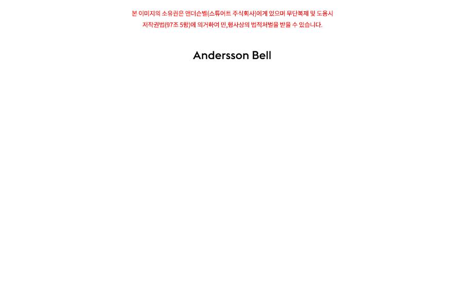 앤더슨벨(ANDERSSON BELL) 핀토니아 스퀘어 토 아일렛 첼시 부츠 aaa283m(BLACK)
